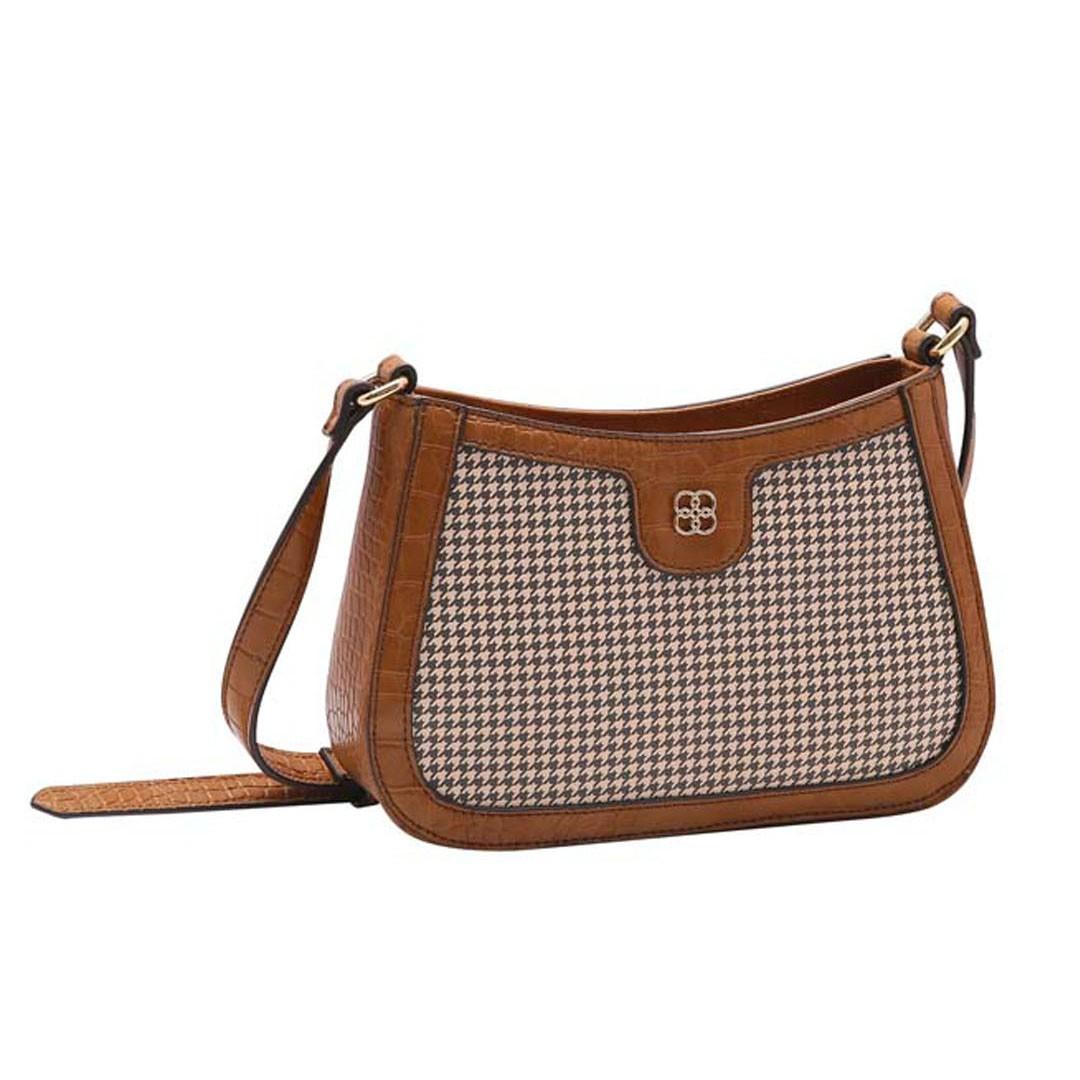 Bolsa Feminina Chenson Croco Vintage Transversal 3483279