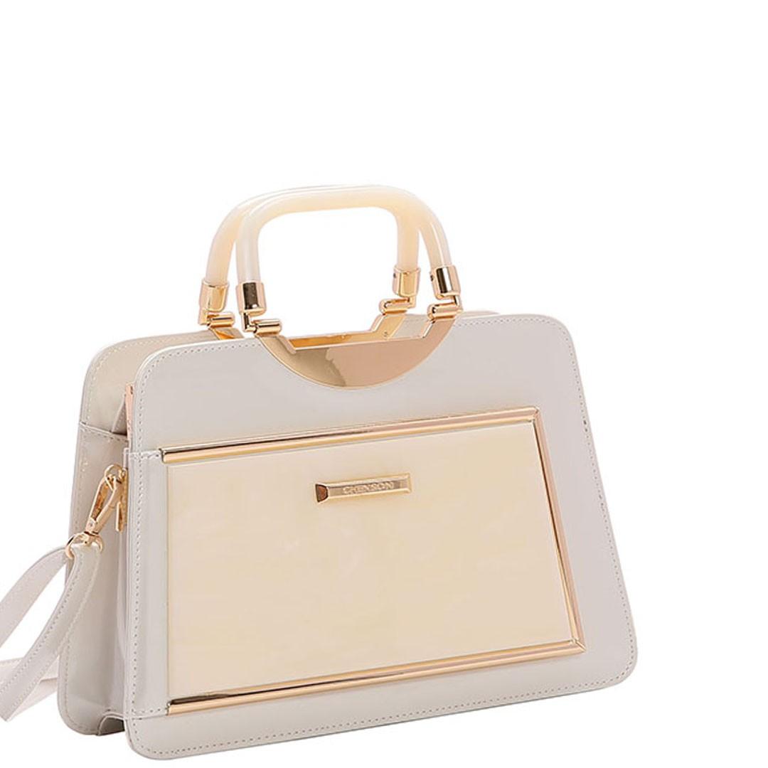 Bolsa Feminina Chenson Glamour Marmorizado de Mão 3483021