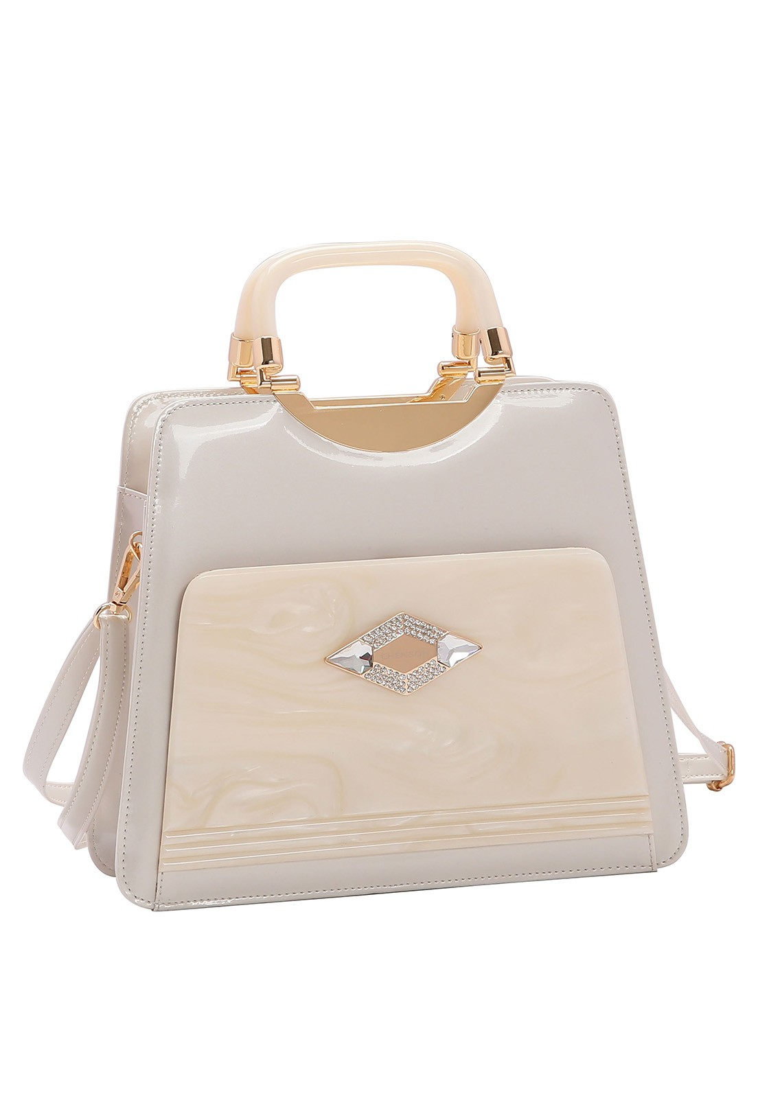Bolsa Feminina Chenson Glamour Marmorizado de Mão 3483023