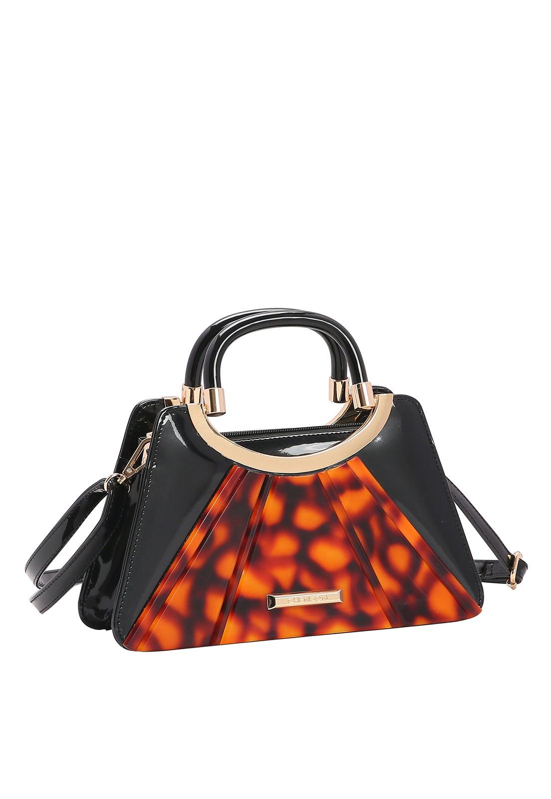 Bolsa Feminina Chenson Glamour Marmorizado de Mão 3483031