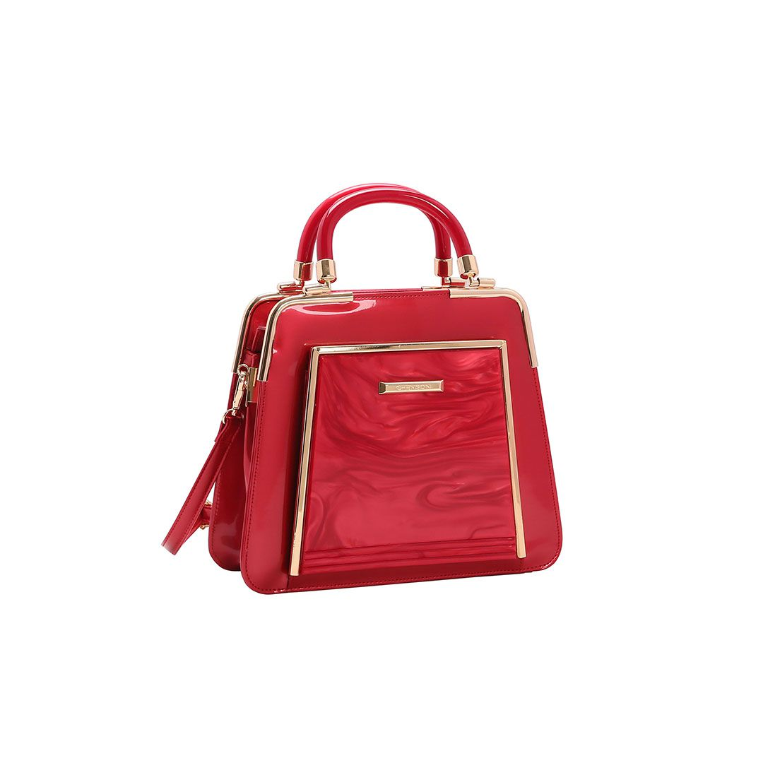 Bolsa Feminina Chenson Glamour Marmorizado de Mão 3483019