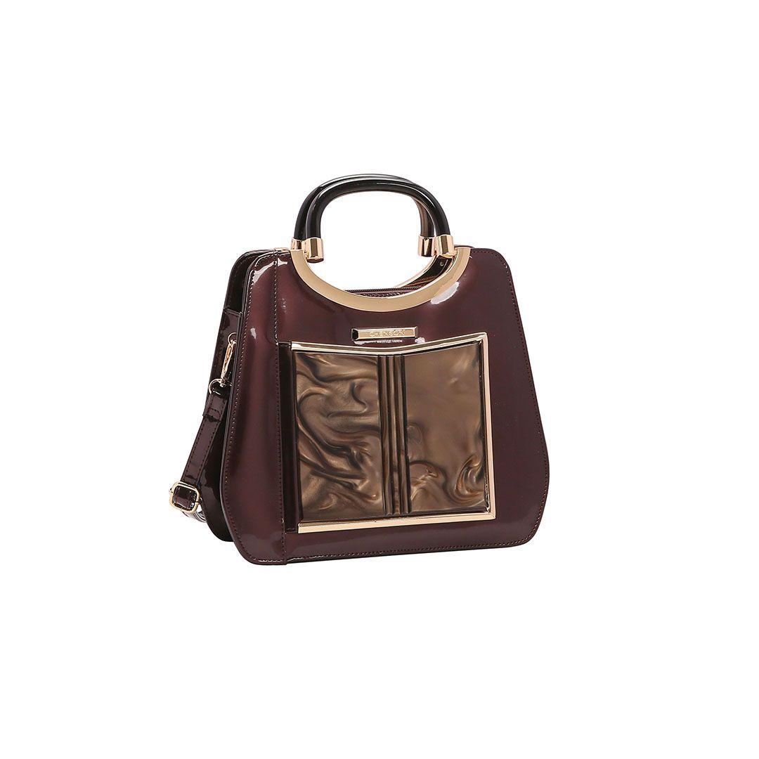 Bolsa Feminina Chenson Glamour Marmorizado de Mão 3483022