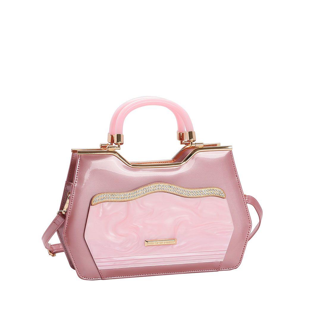 Bolsa Feminina Chenson Glamour Marmorizado de Mão 3483026