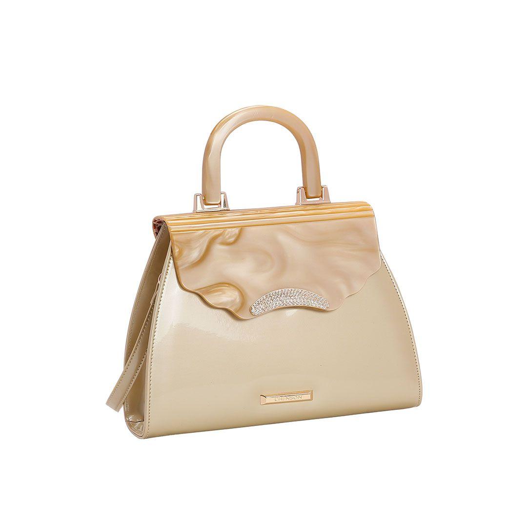 Bolsa Feminina Chenson Glamour Marmorizado de Mão 3483029