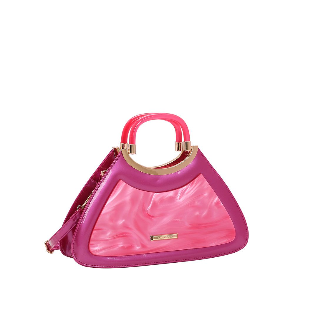 Bolsa Feminina Chenson Glamour Marmorizado de Mão 3483030