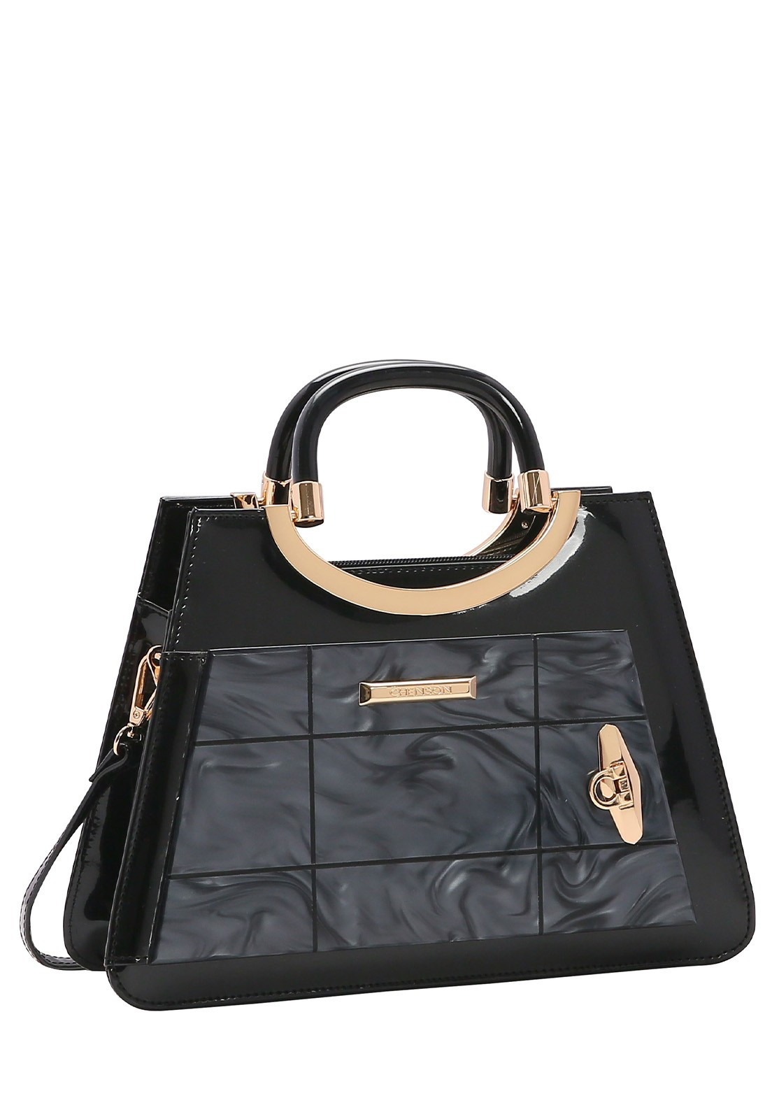 Bolsa Feminina Chenson Glamour Marmorizadode Mão 3483025