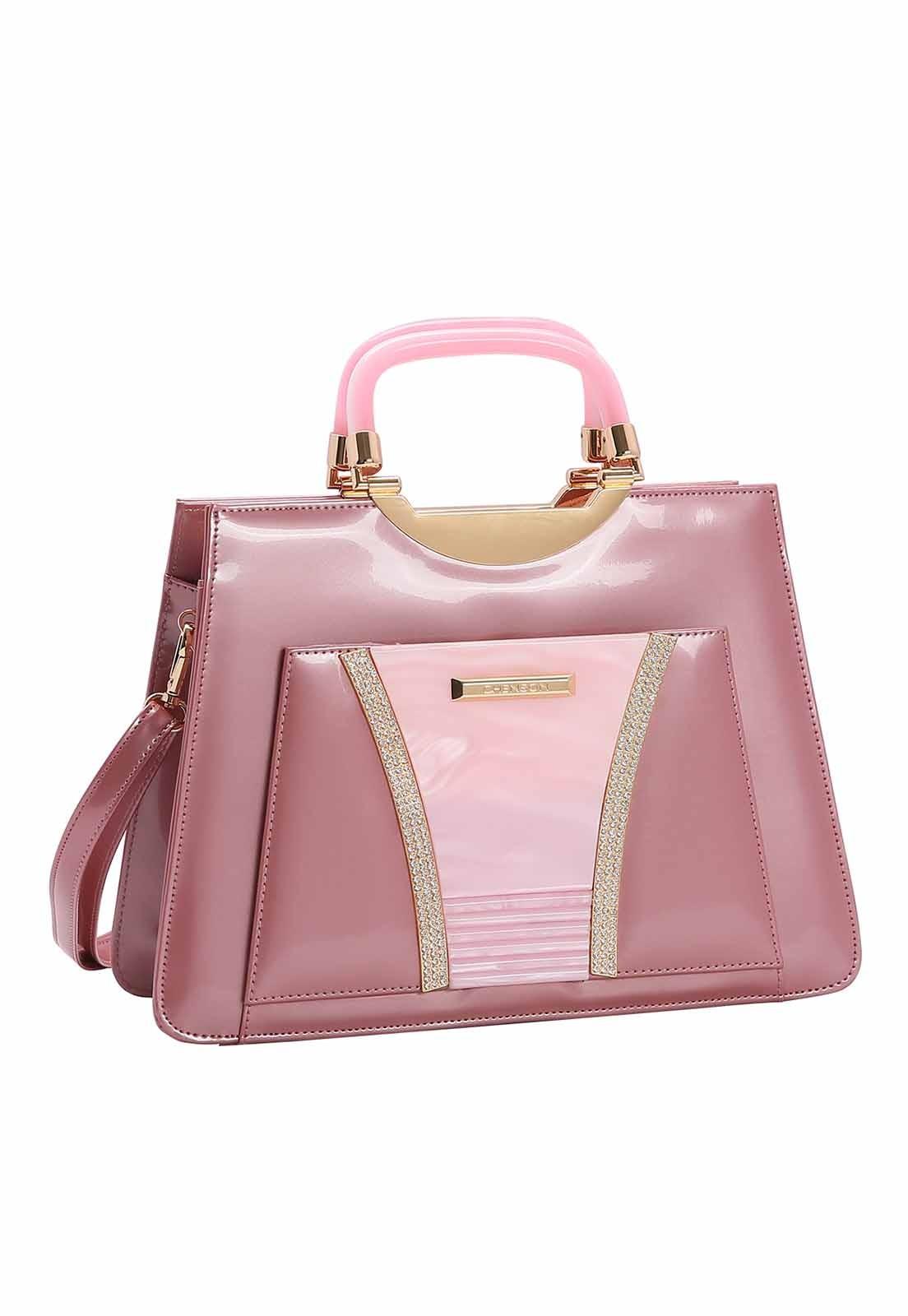Bolsa Feminina Chenson Glamour Marmorizadode Mão 3483028