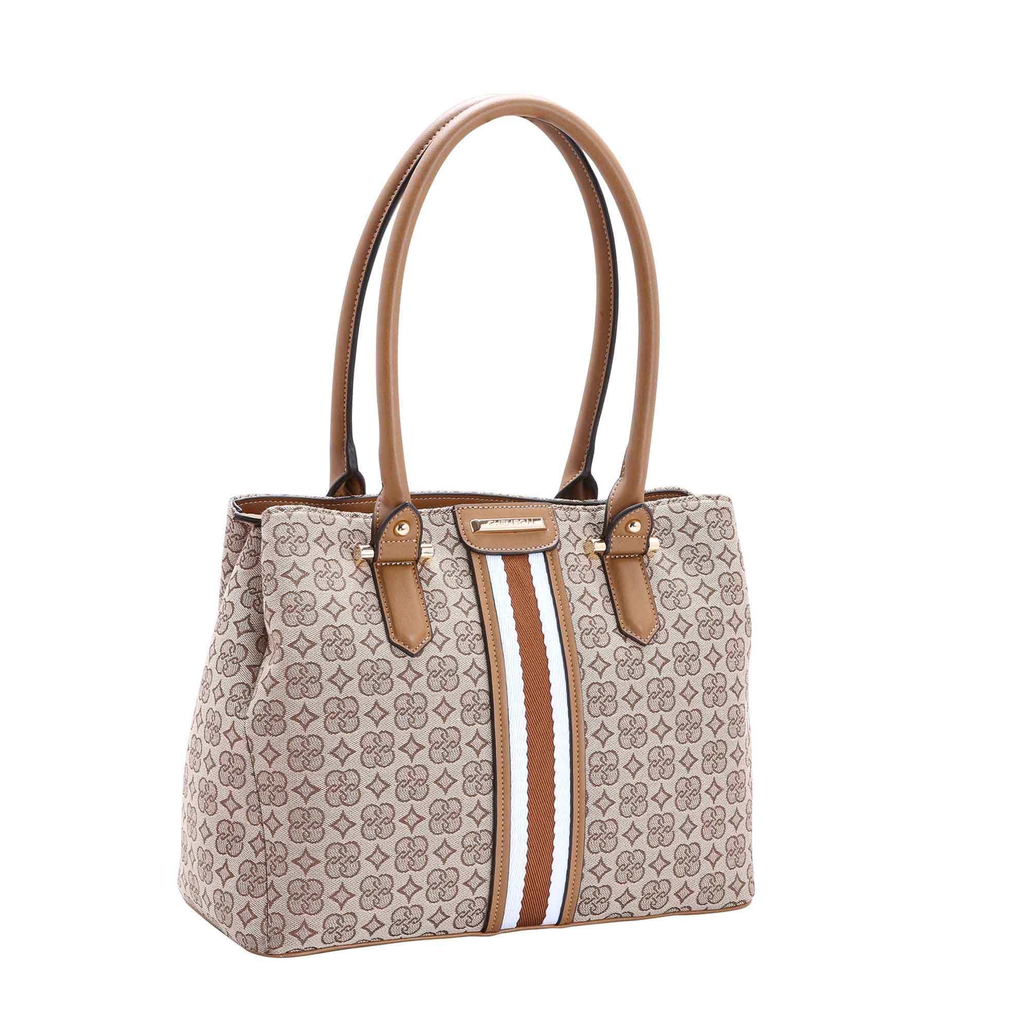 Bolsa Feminina Chenson Jacquard de Ombro 3482204