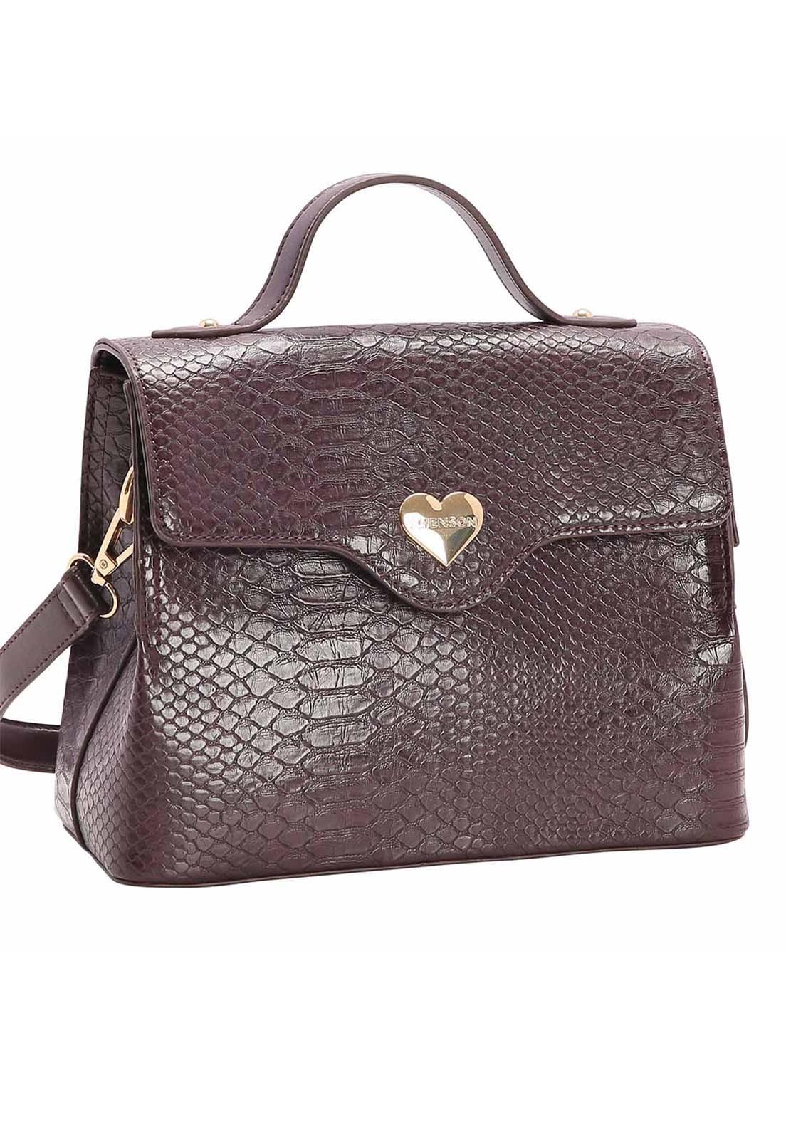 Bolsa Feminina Chenson Lagarto Transversal 3482720
