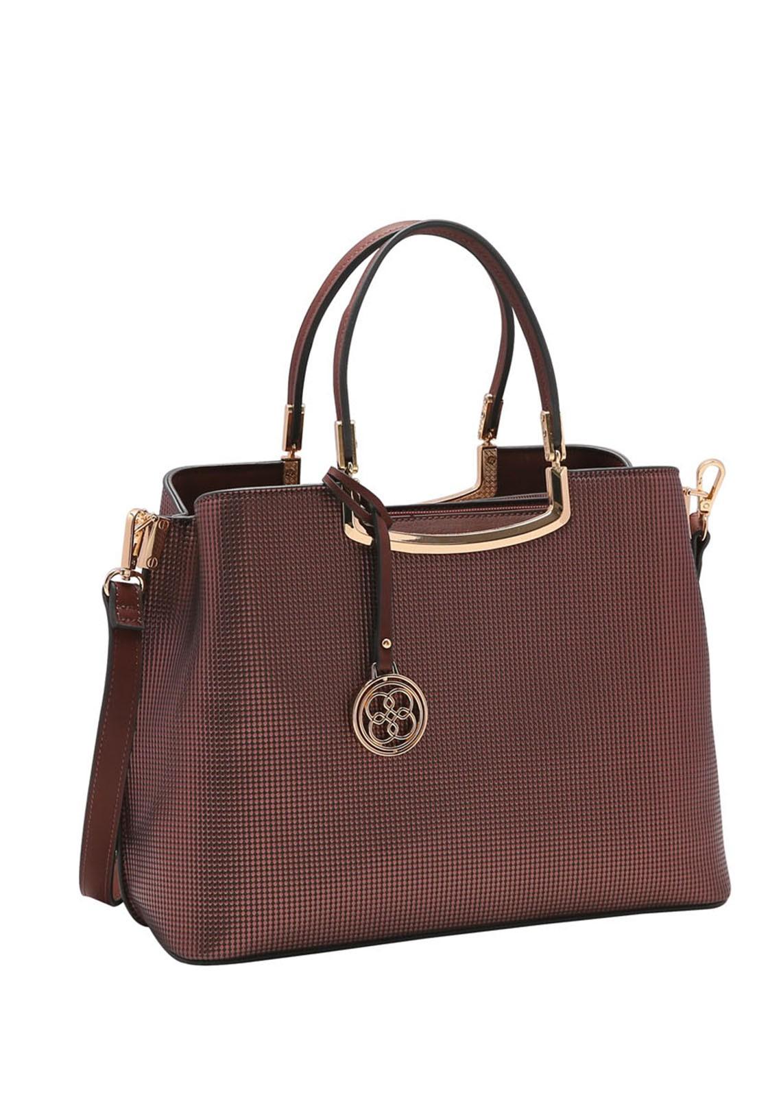 Bolsa Feminina Chenson Metalizada de Mão 3483219