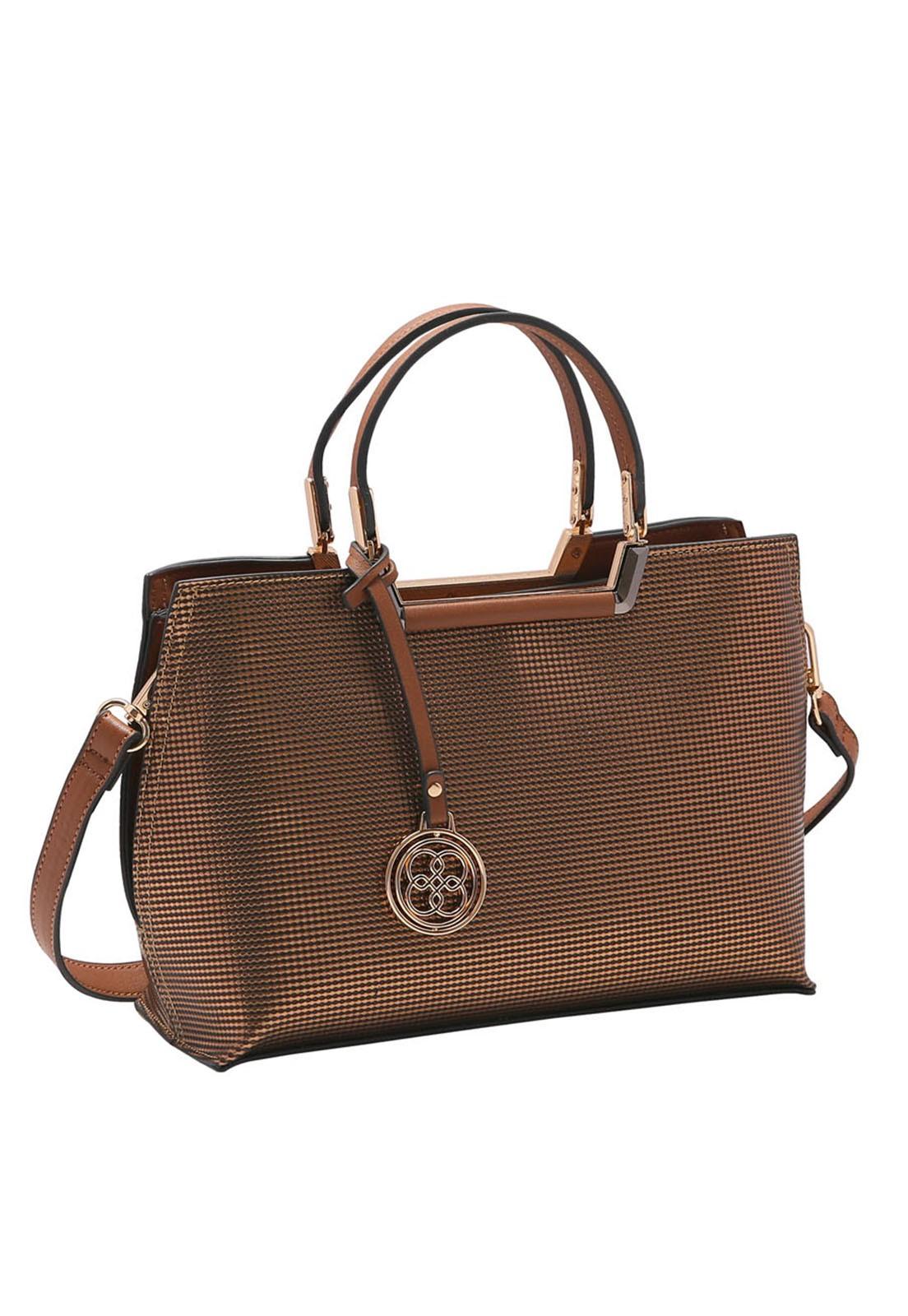 Bolsa Feminina Chenson Metalizada de Mão 3483221