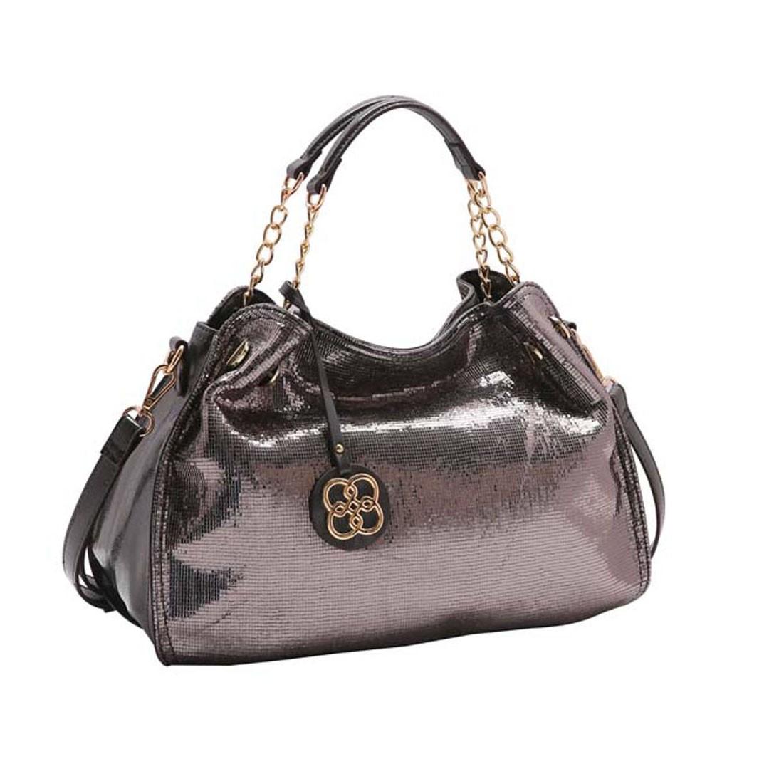 Bolsa Feminina Chenson Metalizado Glam 3483183