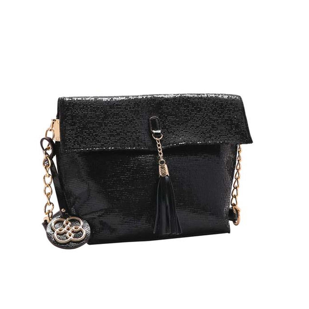 Bolsa Feminina Chenson Metalizado Glam 3483186