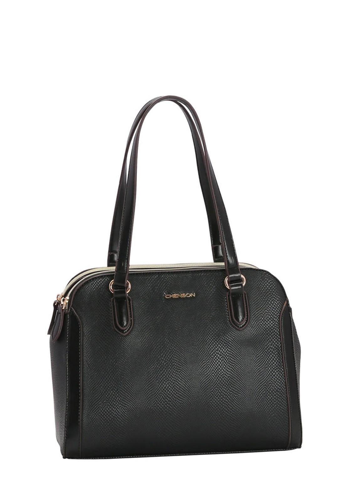 Bolsa Feminina Chenson Mini Lagarto de Ombro 3483141