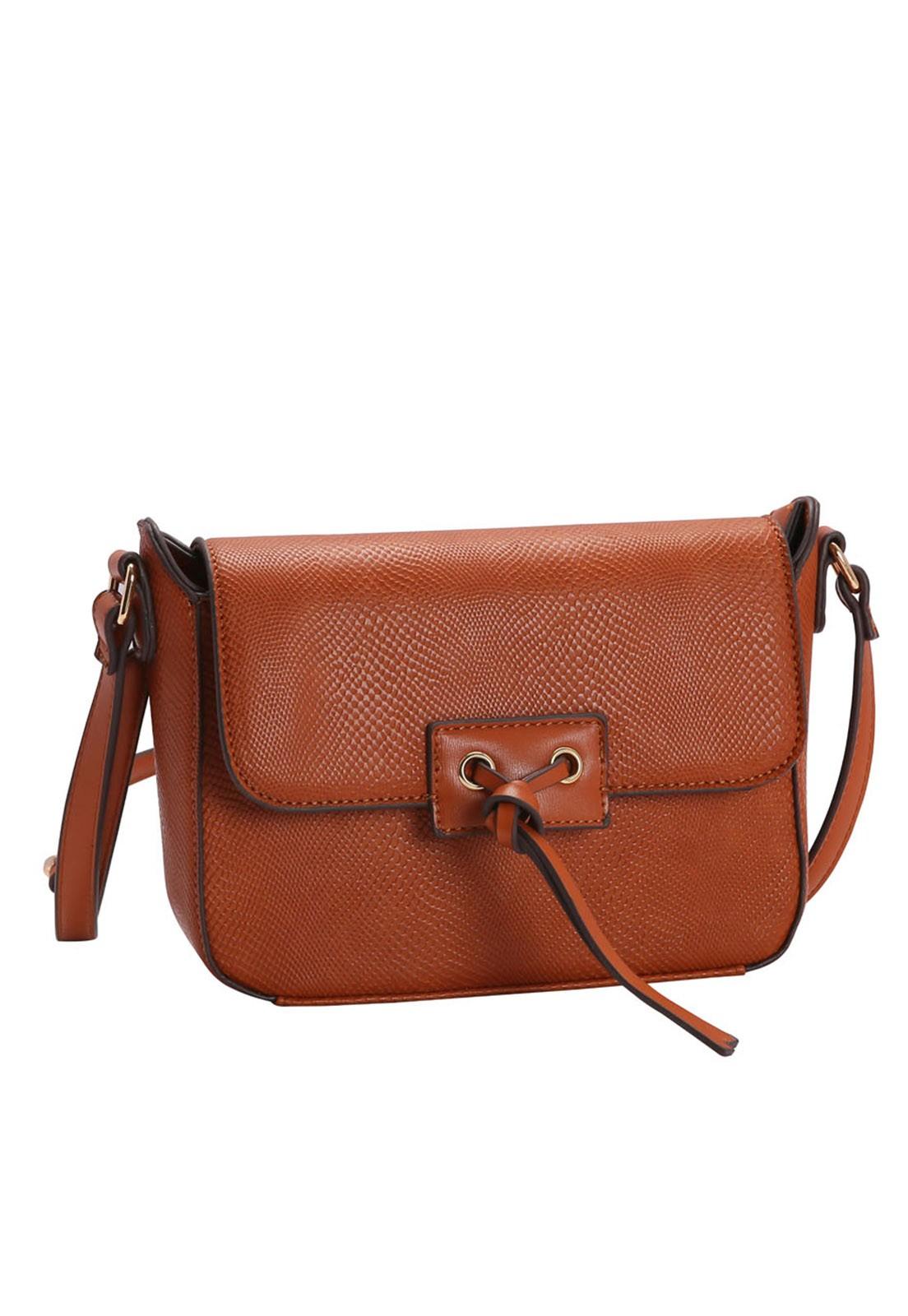 Bolsa Feminina Chenson Mini Lagarto Transversal 3483140