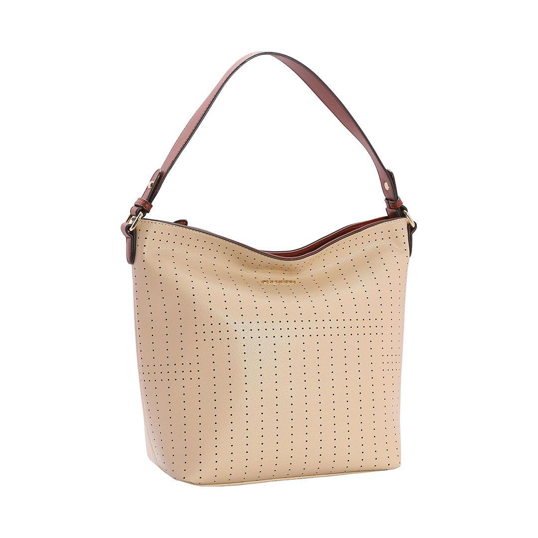 Bolsa Feminina Chenson Mini Perfurado Sacola 3482842