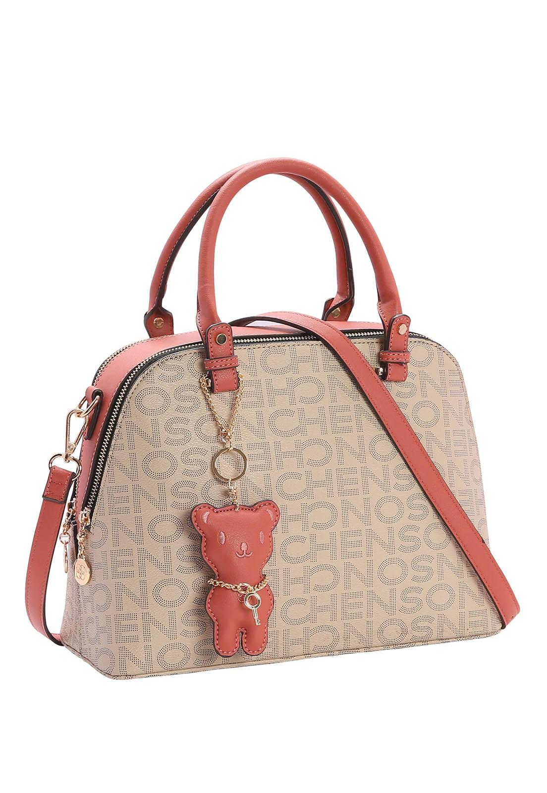 Bolsa Feminina Chenson Monograma Fun de Mão 3482897