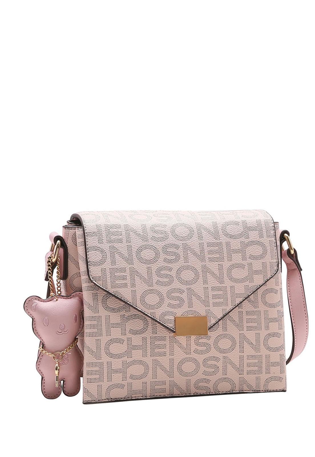 Bolsa Feminina Chenson Monograma Fun Transversal 3483336