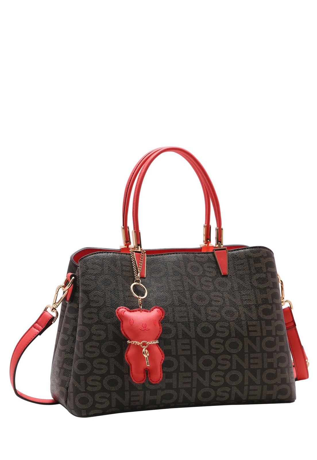 Bolsa Feminina Chenson Monograma Fun de Mão 3483342