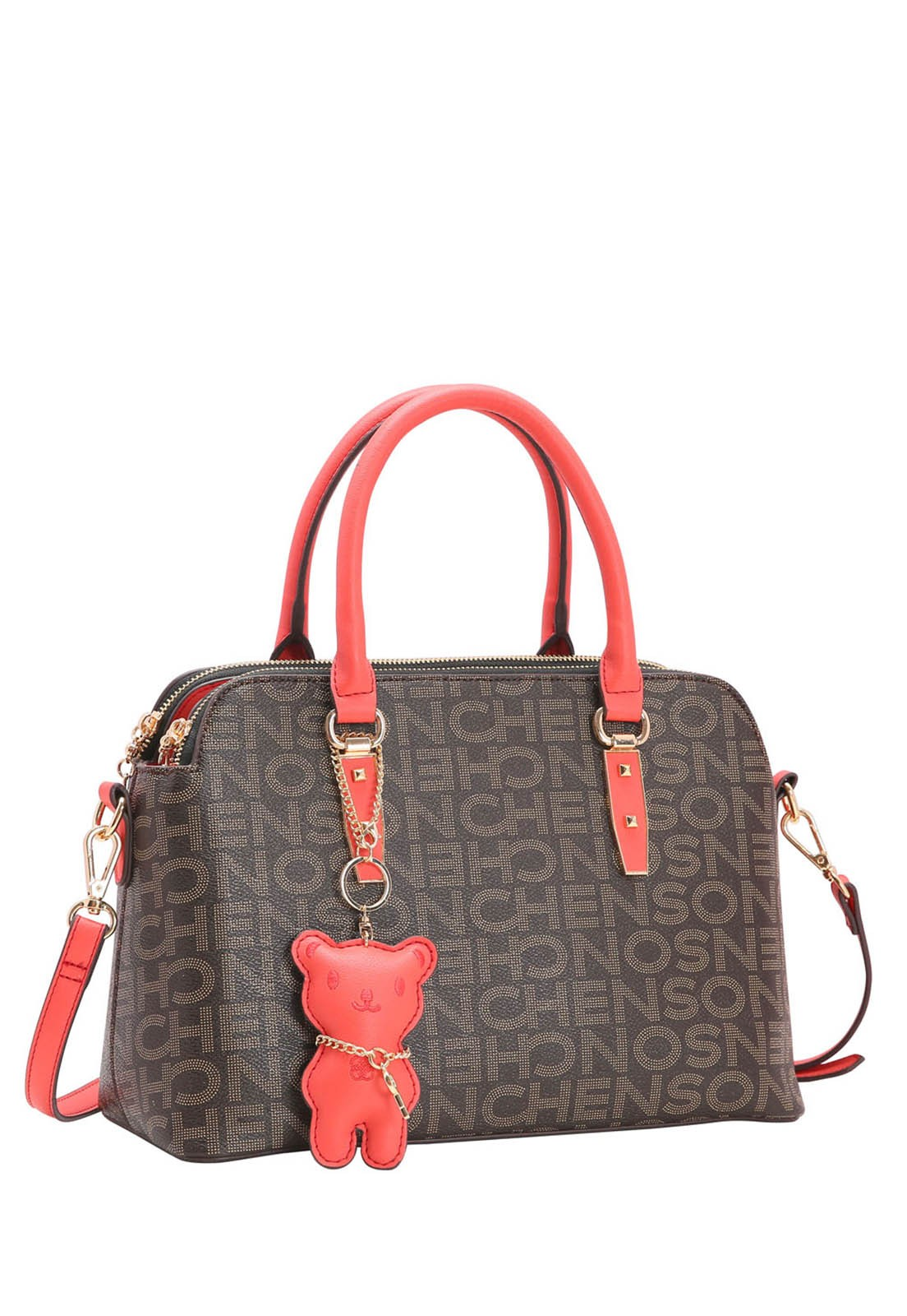 Bolsa Feminina Chenson Monograma Fun de Mão 3483343