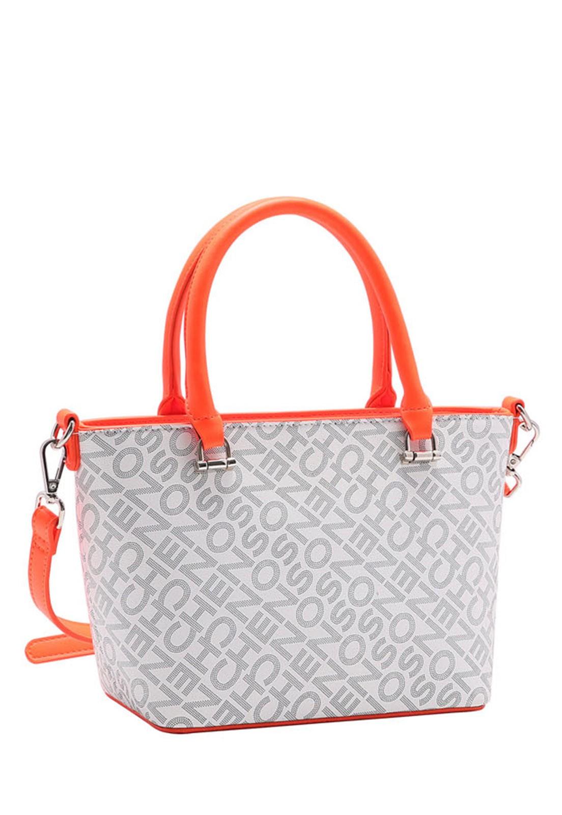 Bolsa Feminina Chenson Monograma Neon de Mão 3483285