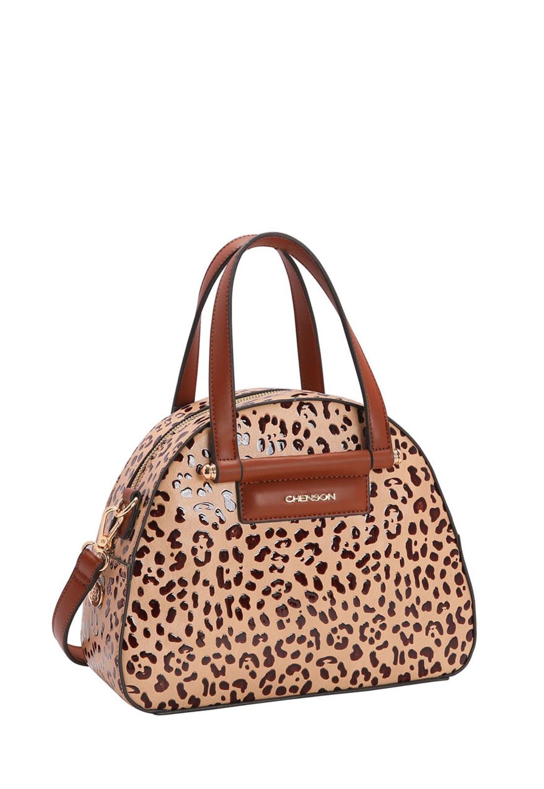 Bolsa Feminina Chenson Onça de Mão 3483261