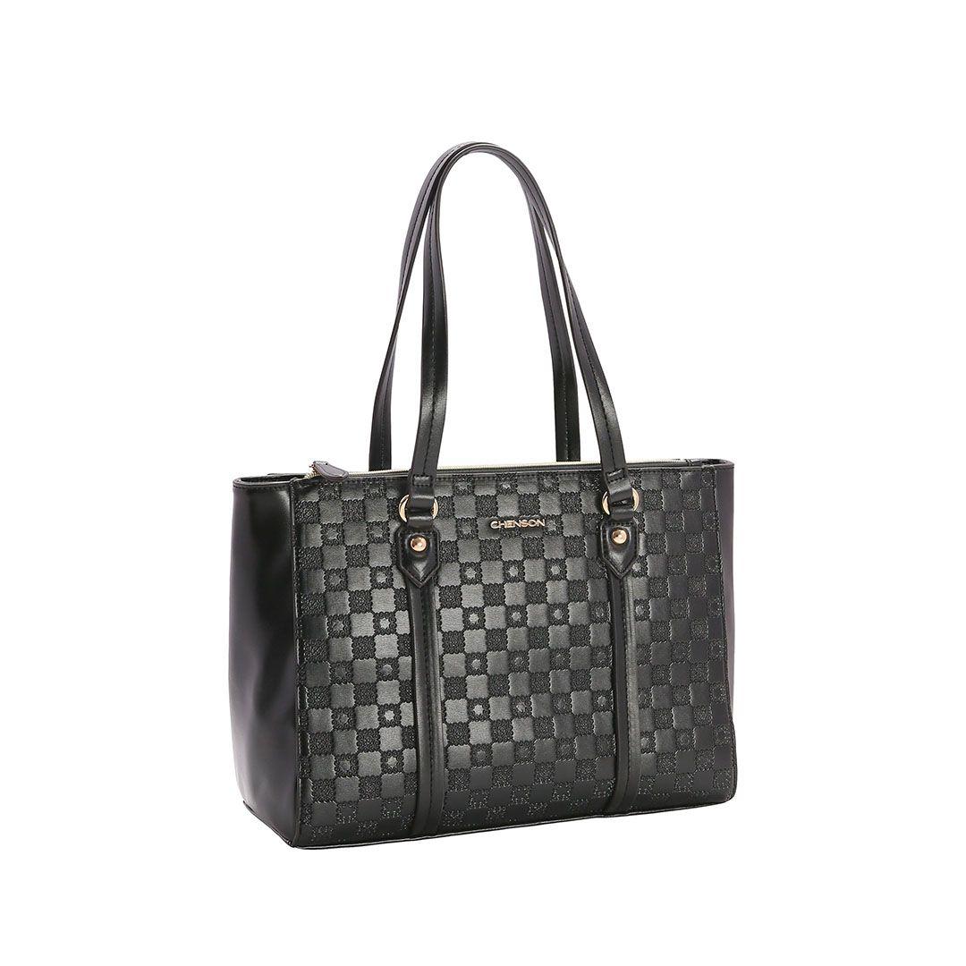 Bolsa Feminina Chenson Relevo Lady de Ombro 3482850