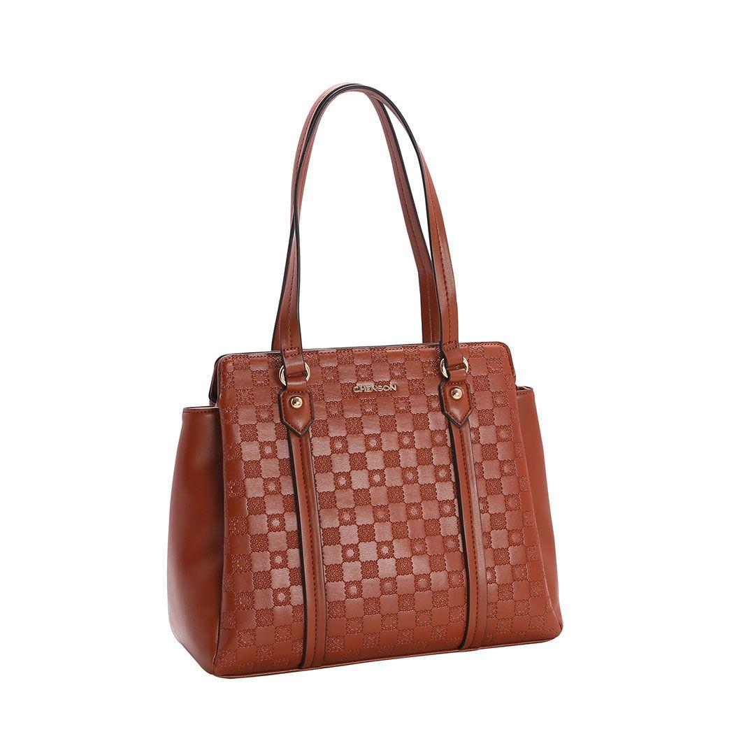 Bolsa Feminina Chenson Relevo Lady de Ombro 3482851