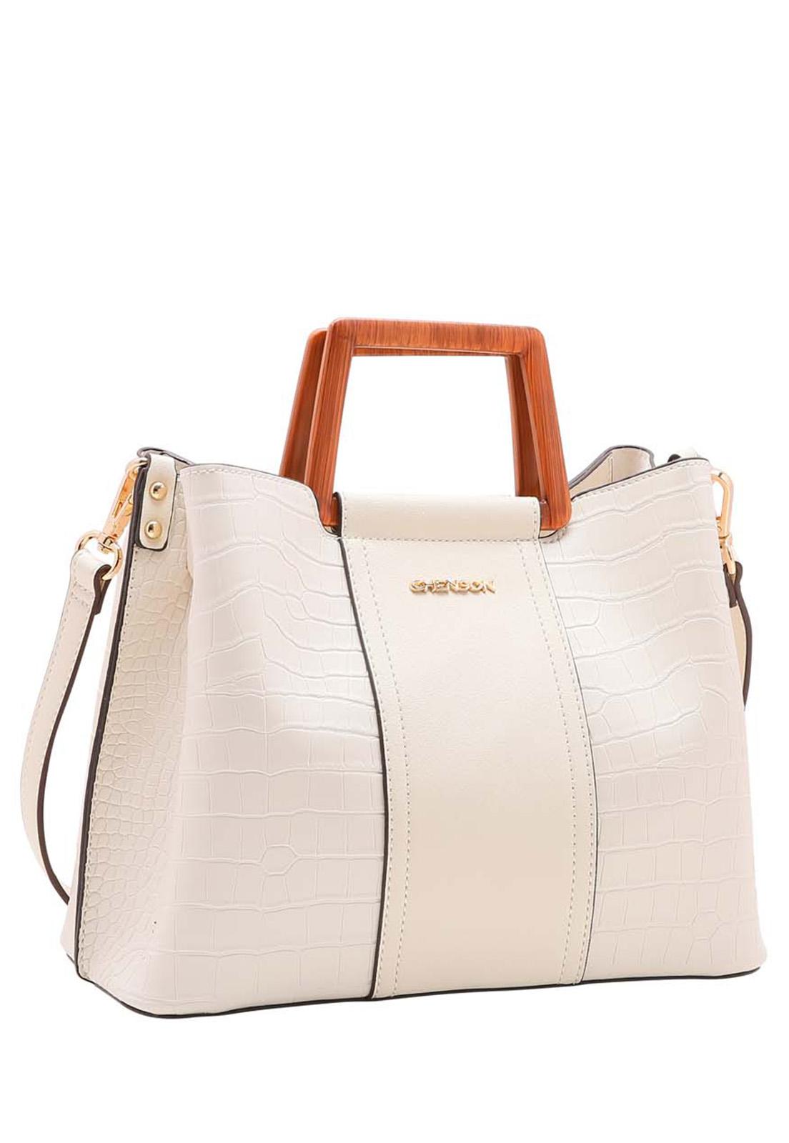 Bolsa Feminina Chenson Rústica Mão 3483510