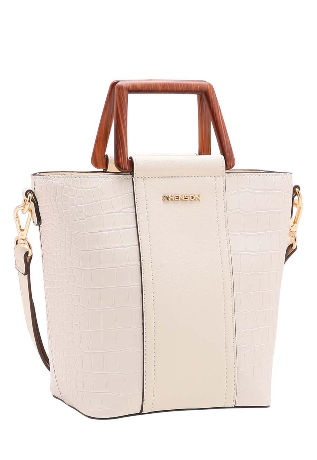 Bolsa Feminina Chenson Rústica Mão 3483511