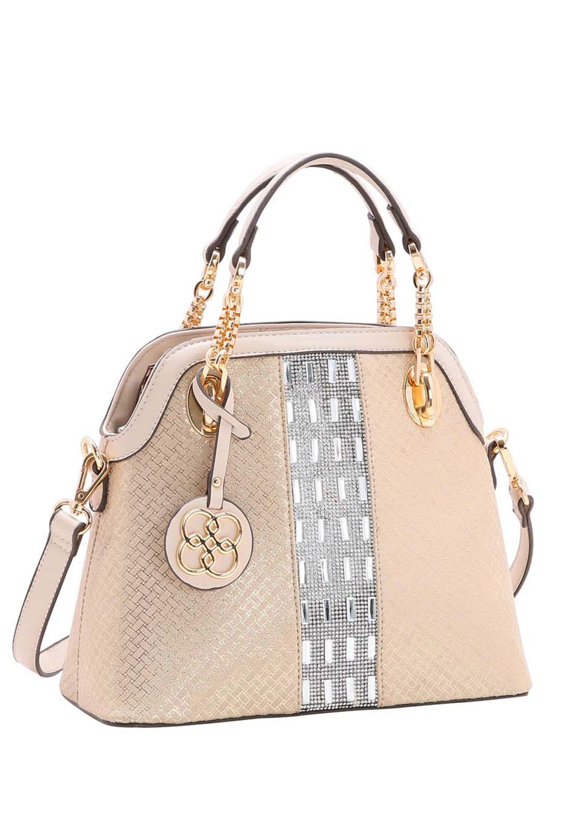 Bolsa Feminina Chenson Shine Glamour Mão 3483535