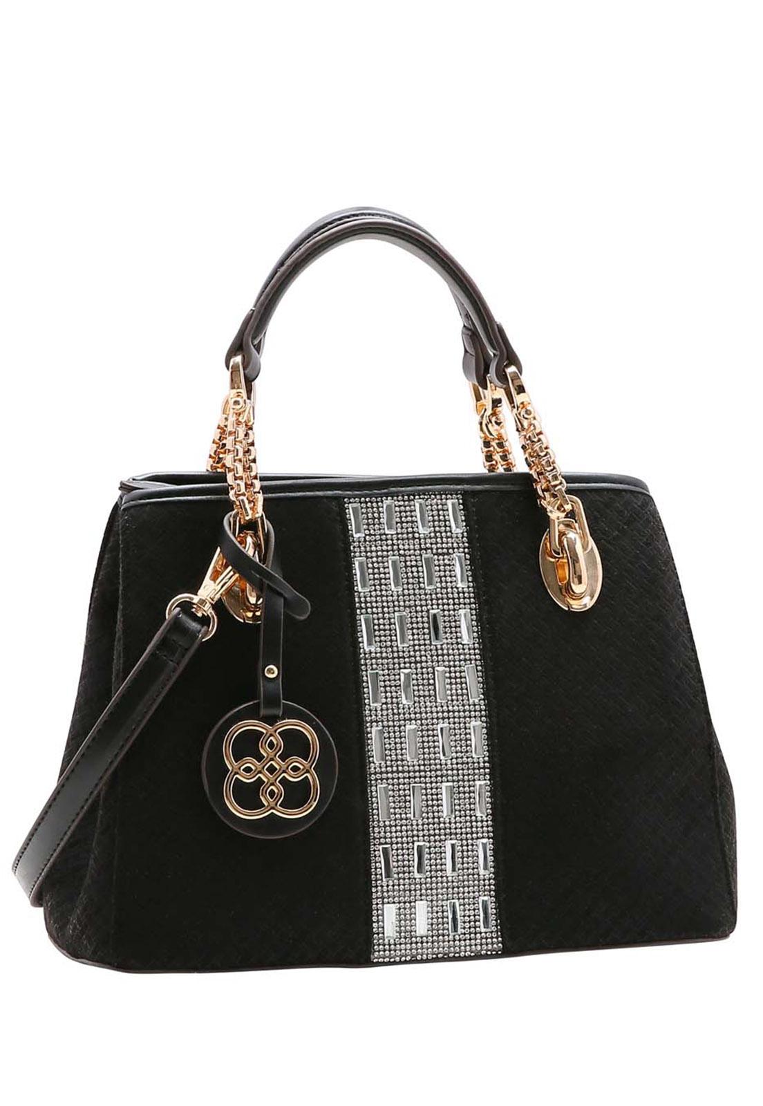 Bolsa Feminina Chenson Shine Glamour Mão 3483536