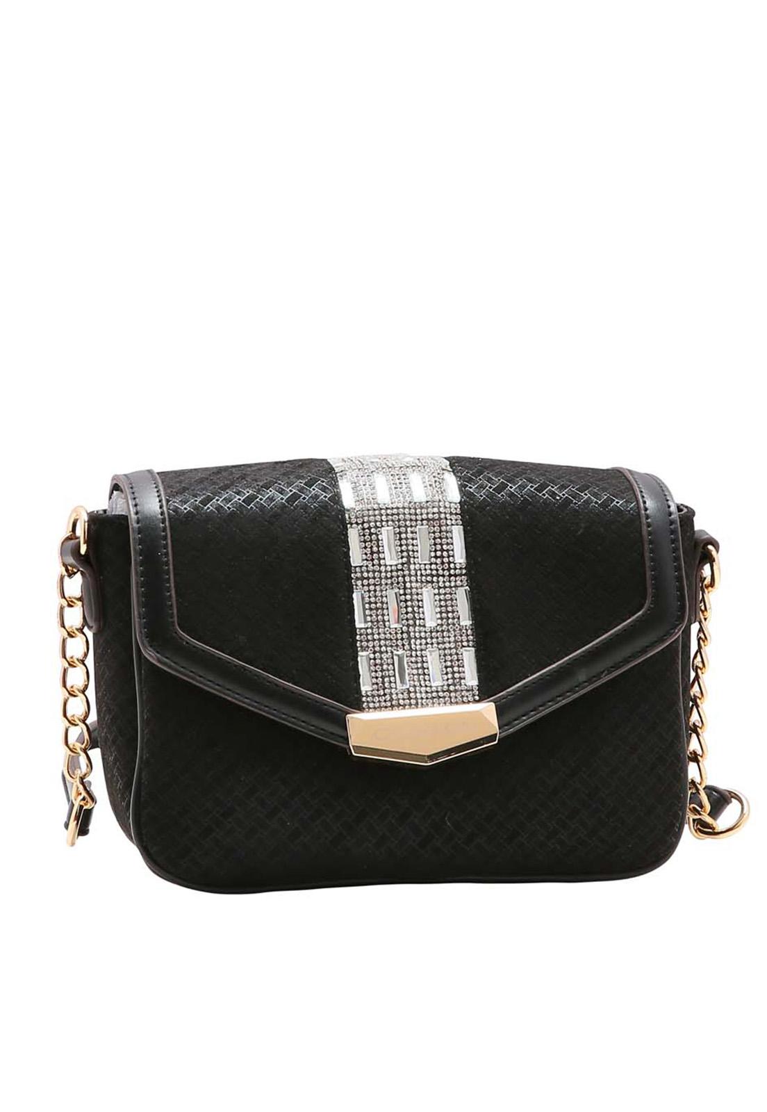 Bolsa Feminina Chenson Shine Glamour Transversal 3483537