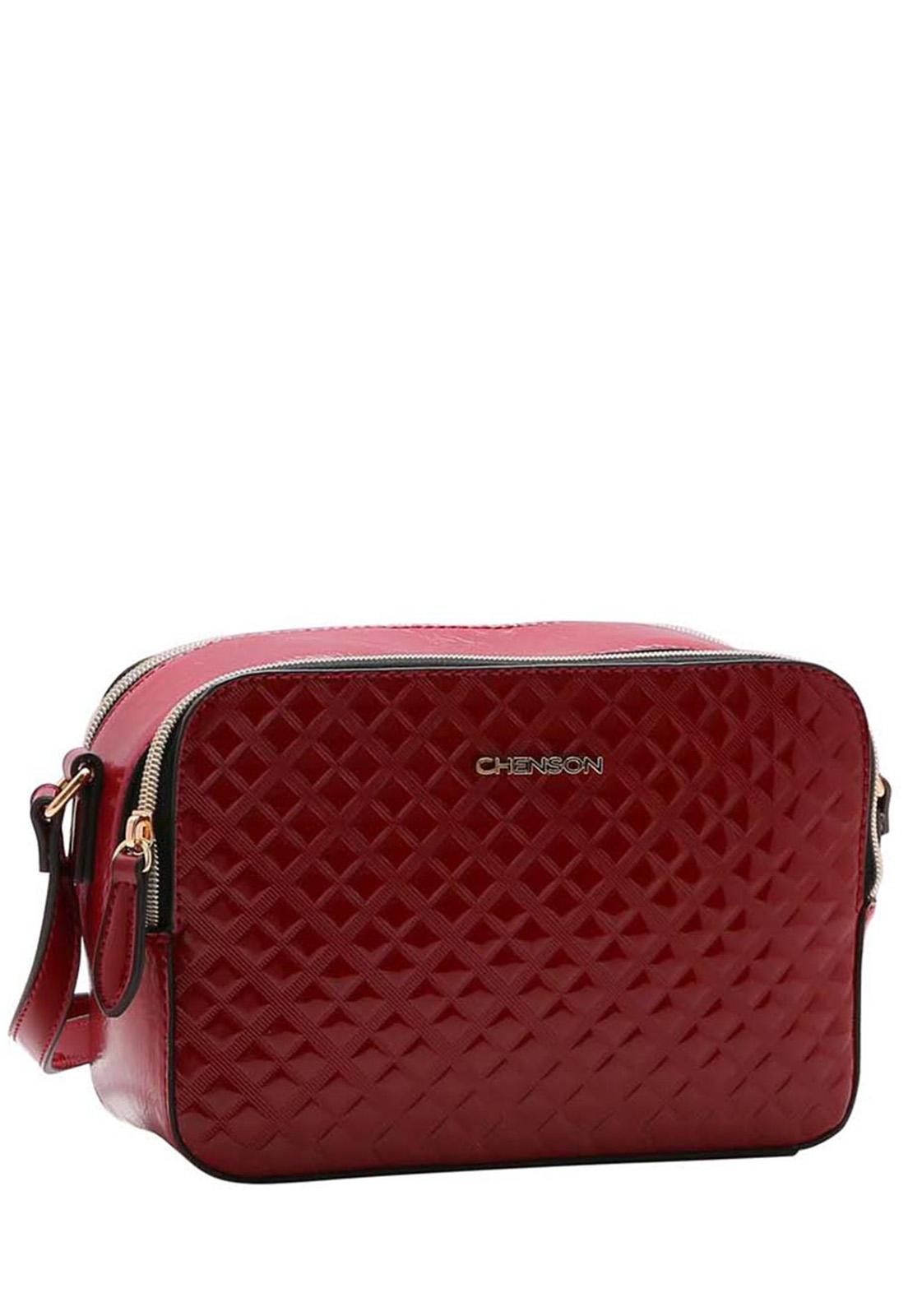 Bolsa Feminina Chenson Textura Contemporânea Transversal  3483405