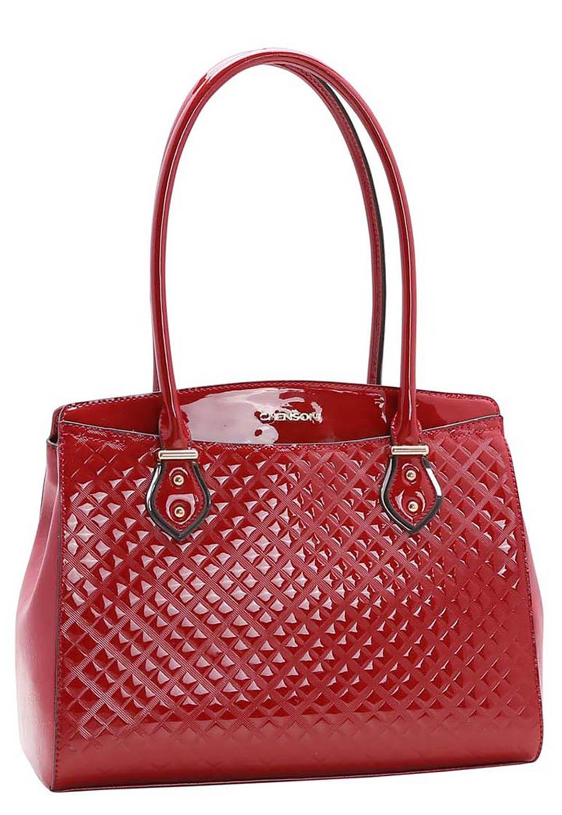 Bolsa Feminina Chenson Textura Contemporânea Ombro 3483404