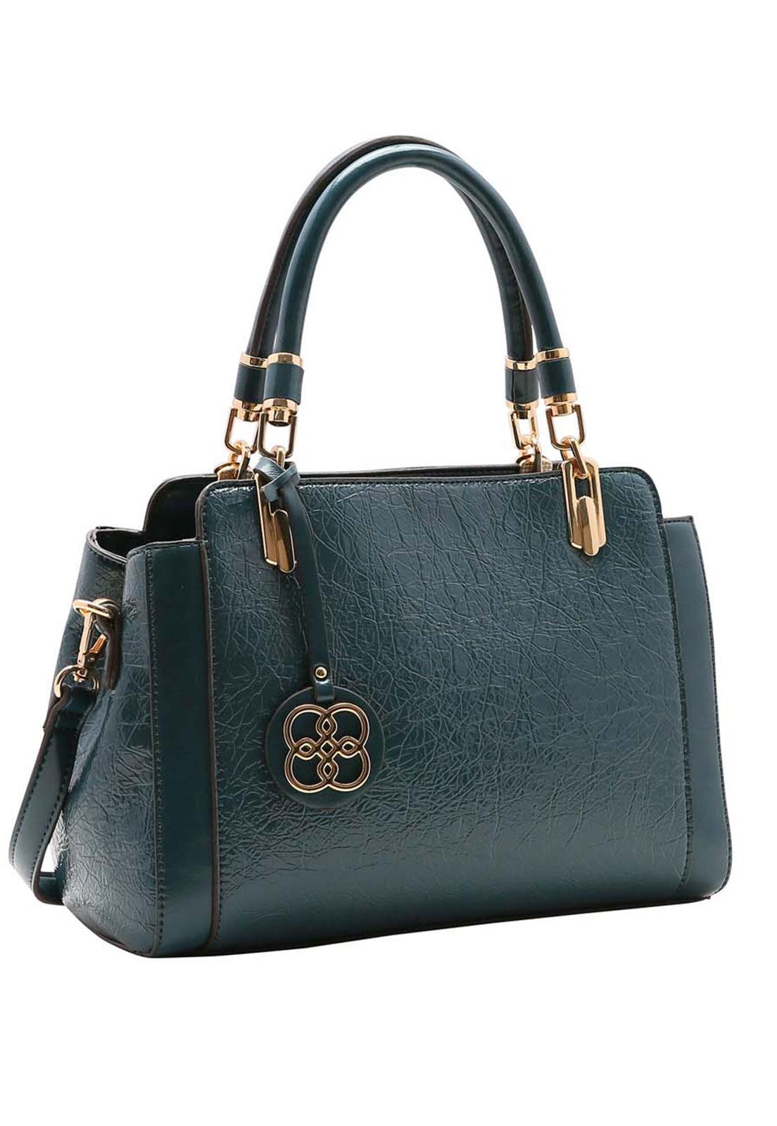 Bolsa Feminina Chenson Textura Verniz Mão 3483500