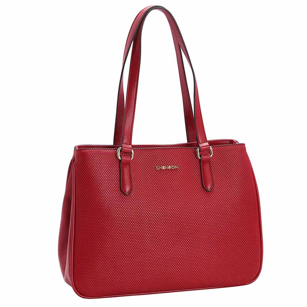 Bolsa Feminina Chenson Texturizado de Ombro 3482854