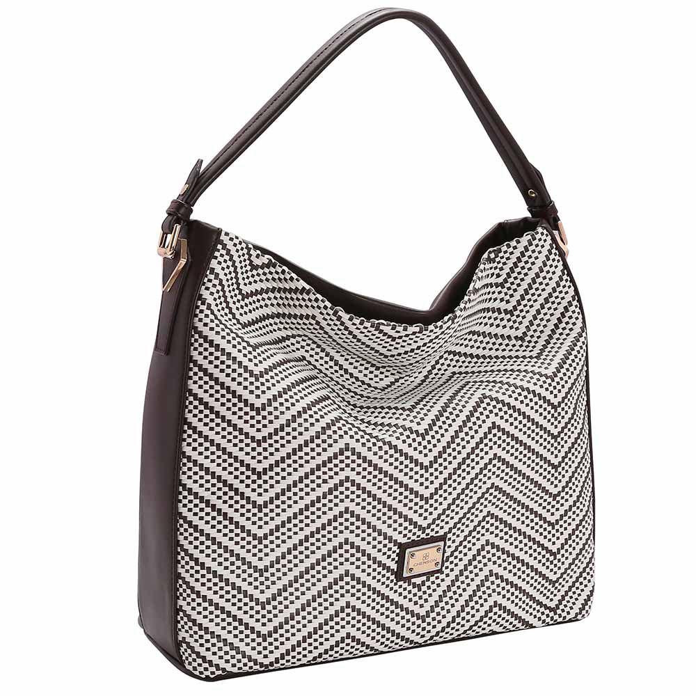 Bolsa Feminina Chenson Trama Soft de Mão 3482953