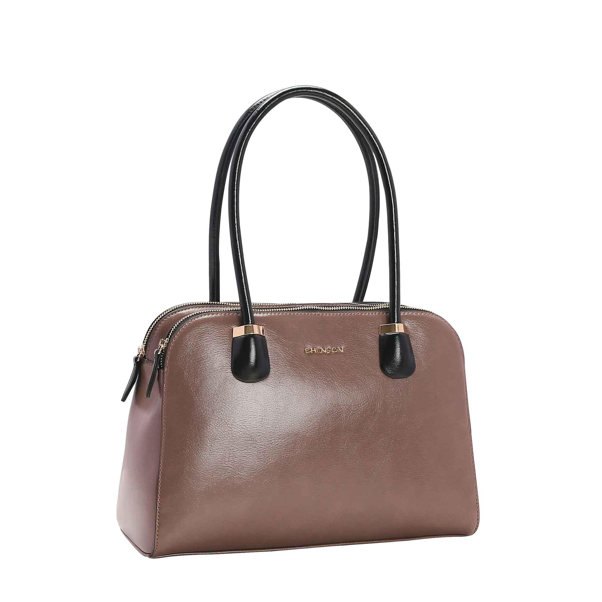Bolsa Feminina Chenson Verniz Clássico  de Ombro 3482662