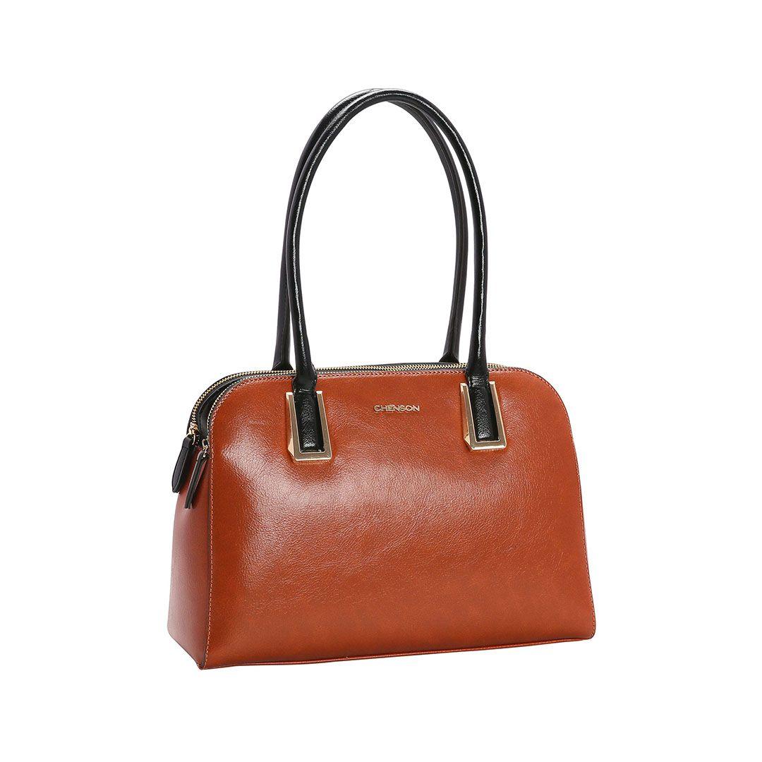 Bolsa Feminina Chenson Verniz Clássico de Ombro 3482978