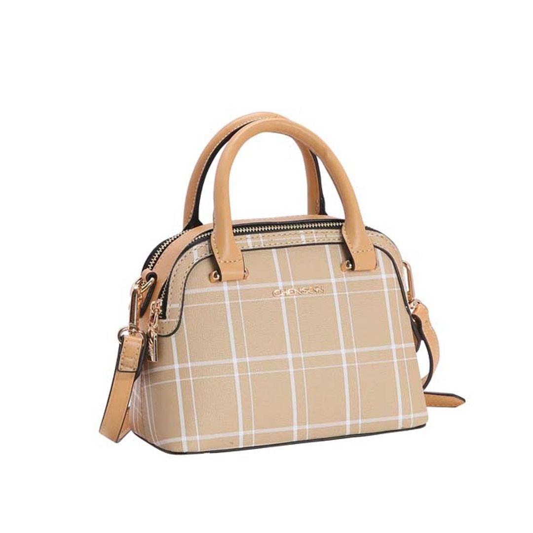 Bolsa Feminina Chenson Xadrez Lady 3483205