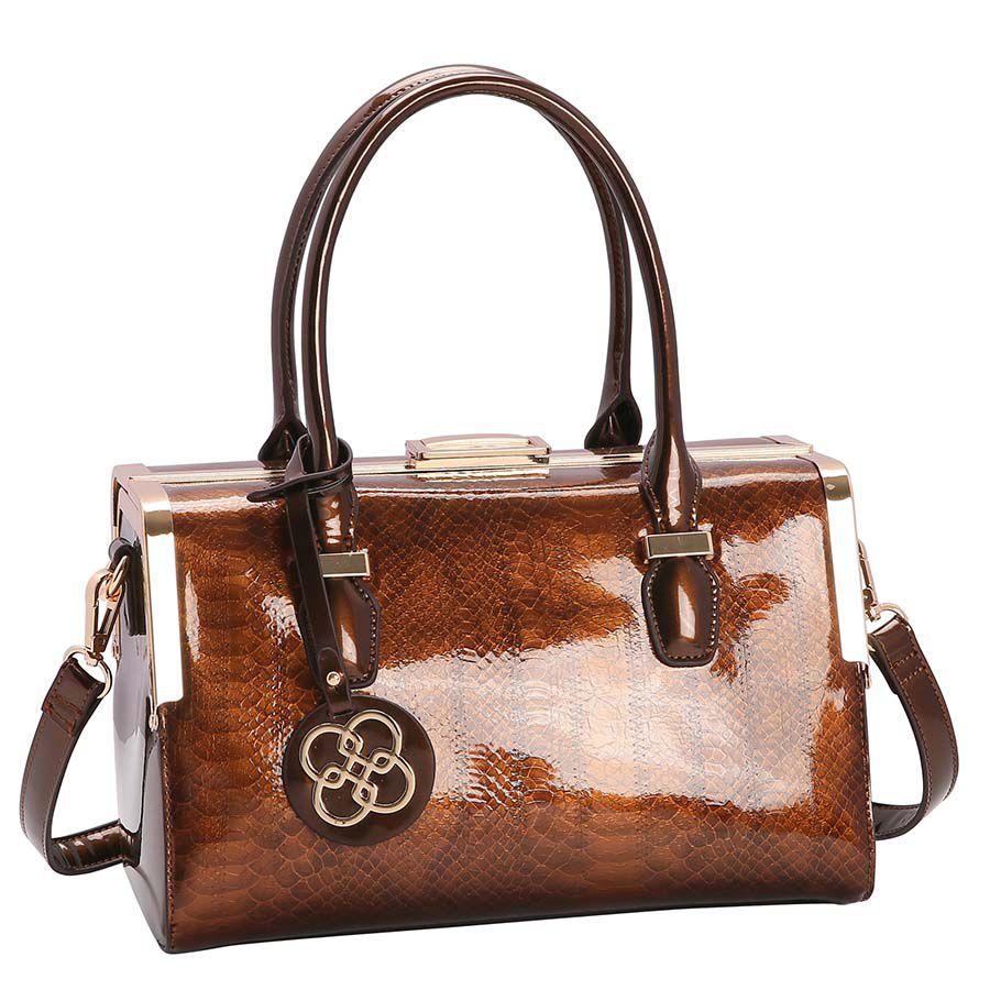 Bolsa Feminina Croco Glam de Mão 3483011