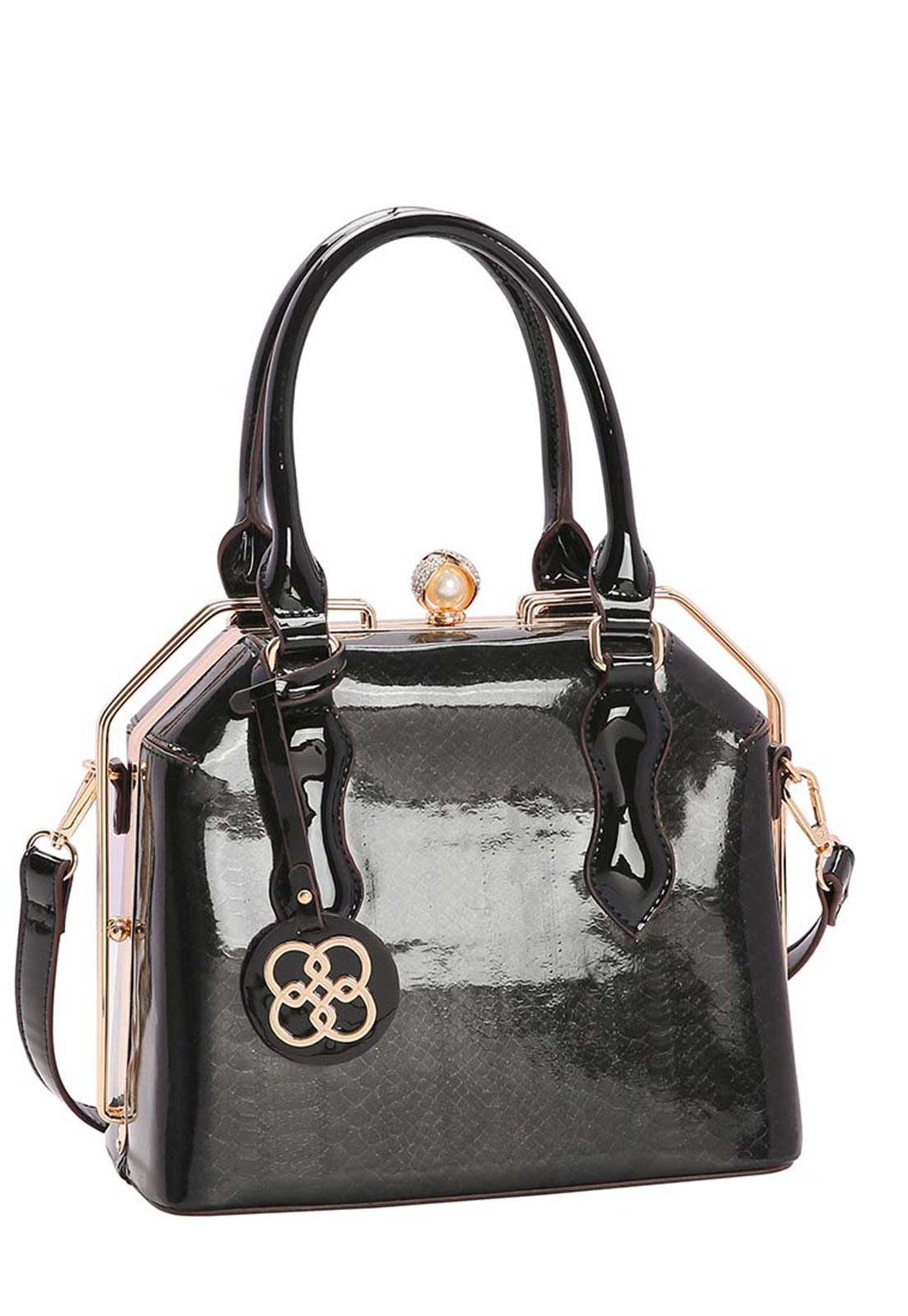 Bolsa Feminina Croco Glam de Mão 3483012
