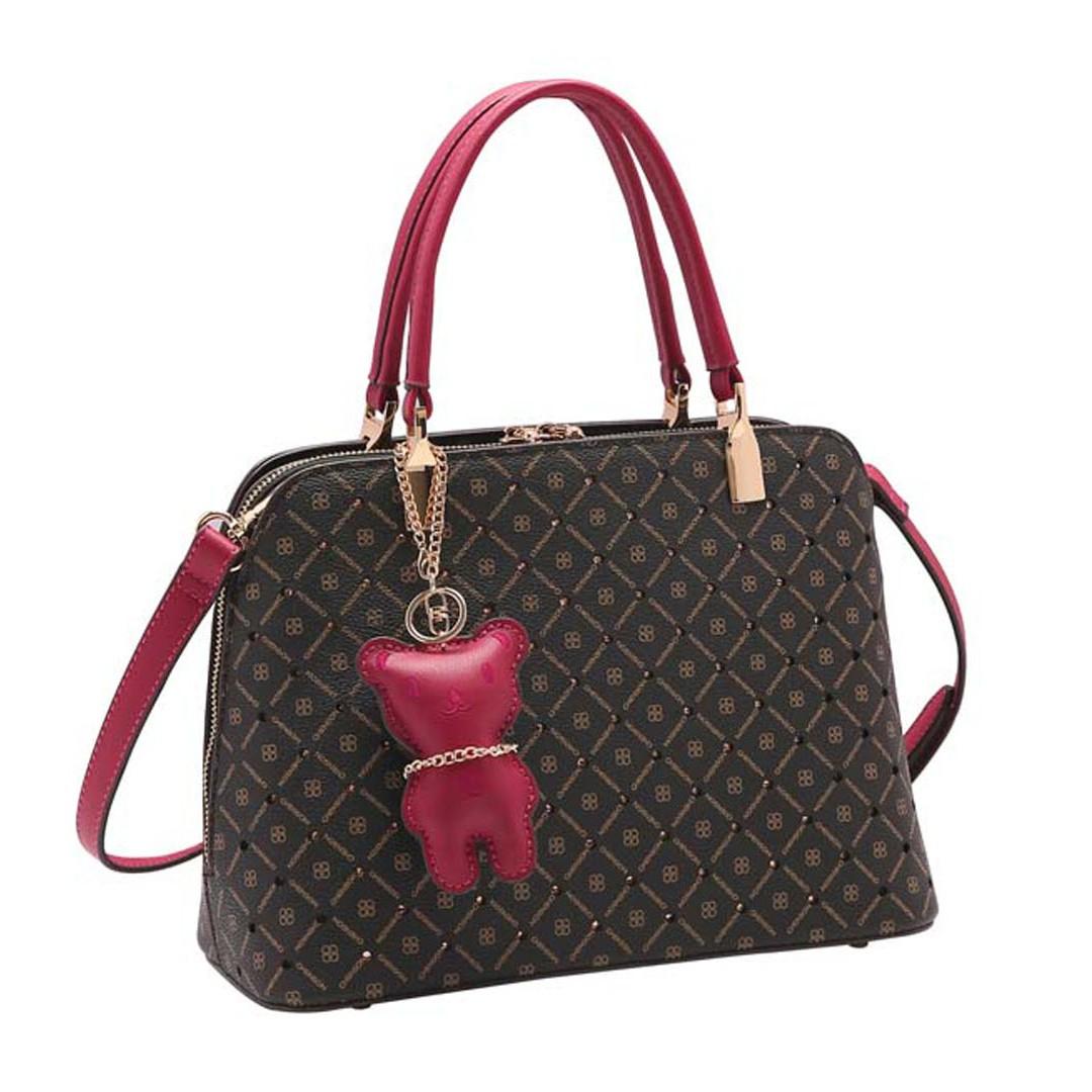 Bolsa Feminina Monograma Star de Mão 3483321