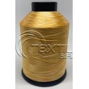 """Linha de bordar MATIZADA Código - 1008 """"Amarelo ouro e Branco"""""""