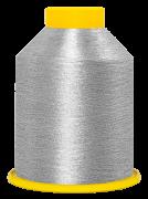 """Linha de bordar metalizada código SA.01.01.0001 """"Prata"""""""