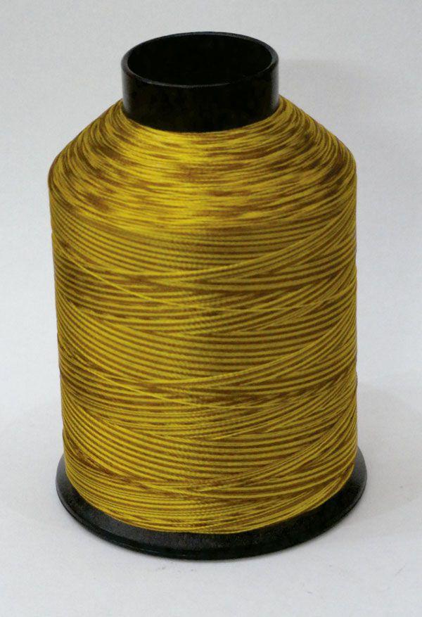 """Linha de bordar MATIZADA Código - 1064 - """"Amarelo e Marrom"""""""