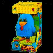 Boneco de Vinil Galinha Pintadinha
