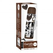 Garrafa Inox Café Color 350ml