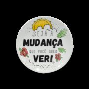 Prato Decorativo 11cm - Good Vibes
